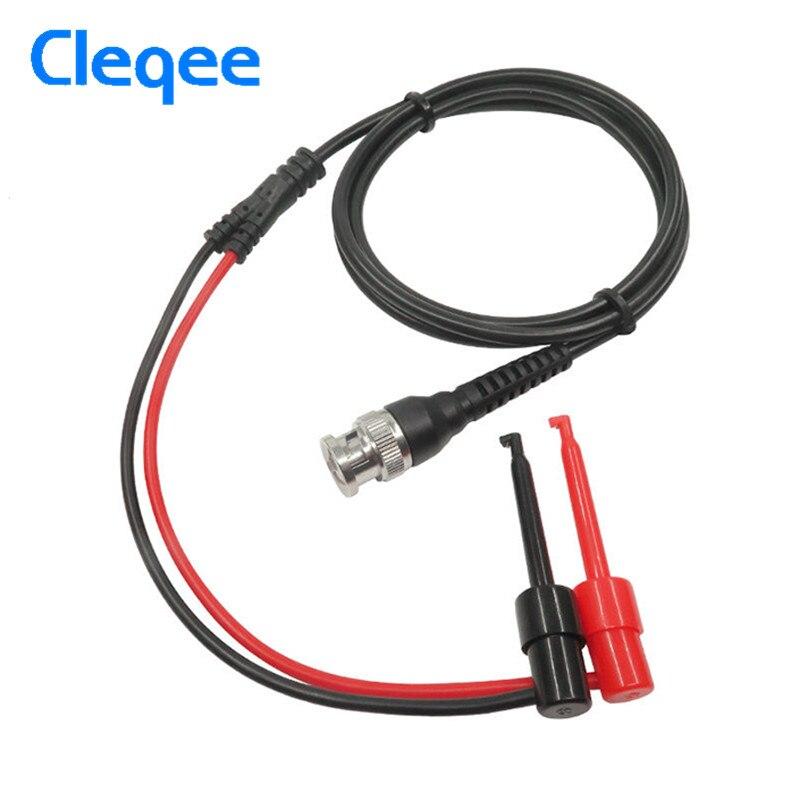 Aggressiv Cleqee P1007 Bnc Stecker Q9 Dual Haken Clip Prüfspitze Kabel Führt 120 Cm Mit Zwei Mini Sonden Ended 500 V 5a Ic Test Haken