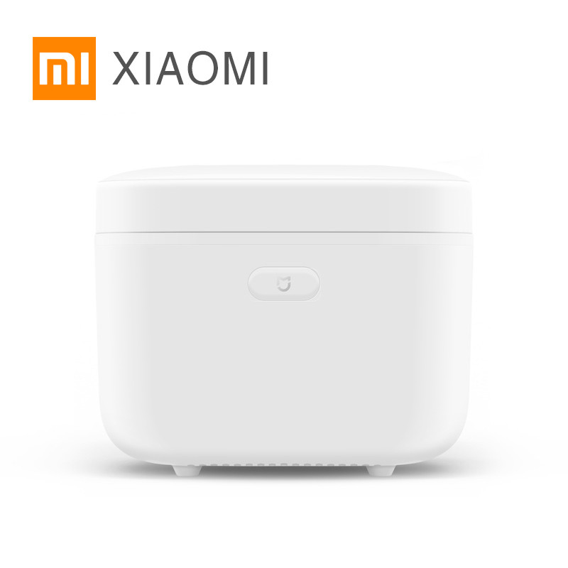 Original Xiaomi Mijia IH Smart Electric Rice Cooker 3L alloy cast iron IH Heating pressure cooker for kitchen APP WiFi Control rak dinding minimalis diy
