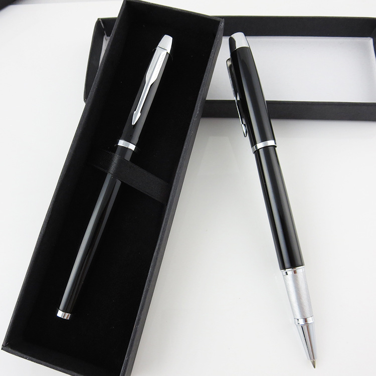 QSHOIC Metal metal ballpoint pen business gift pen for man office stationery gift pen set high quality thanksgiving day gift qshoic hero 9086 metal gift pen matte metal pen good quality pen signature pen business men for gift