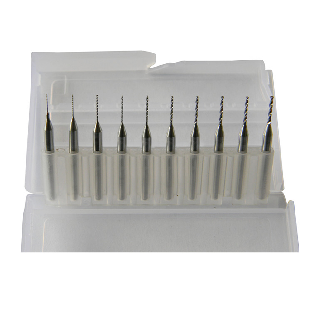 Solid Carbide Micro Drill Bit 130 Drill Bit Point Angle pack of 5 0.0310 Decimal Equivalent 68