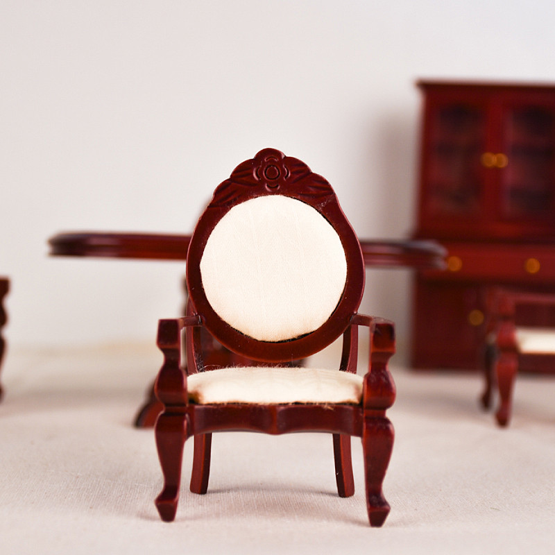Dub K 1 12 Muebles De Juguete Miniatura Rojo Mini Juego De Mesa