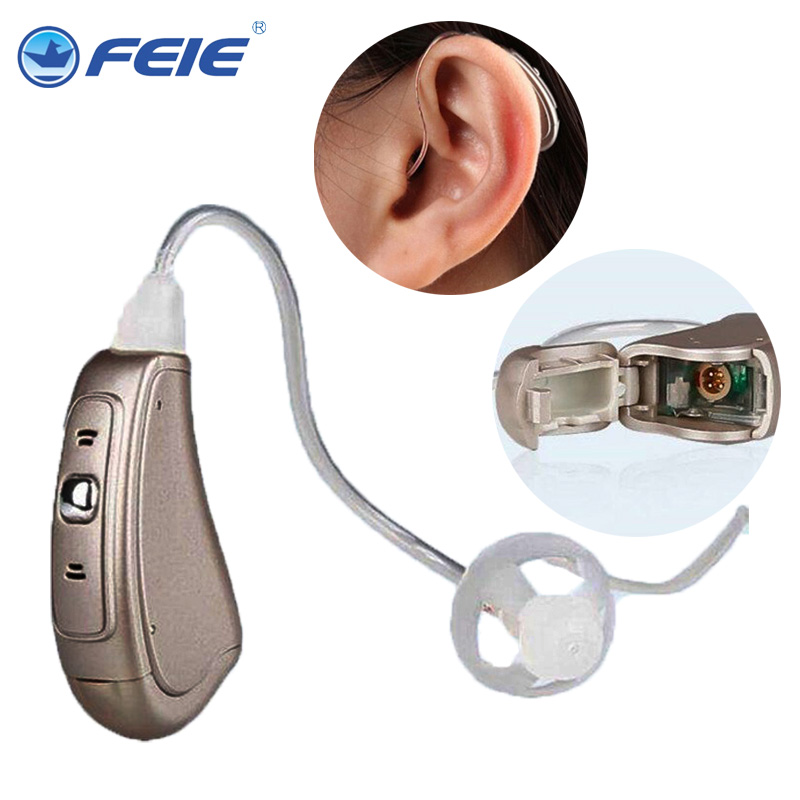 Digital  Hearing Aid  sound amplifier digital Hearing Aid for personal ear voice MY-19S free shipping