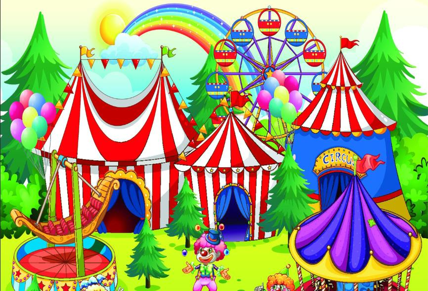 Cartoon Kids Carnival ...