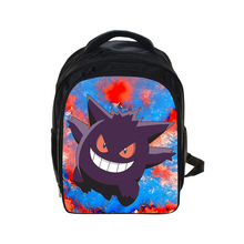 621018b7f713 Cute Kids Pokemon Gengar Printing Backpacks Anime Backpack Boys Girls  School Bags Children Book Bag Daily