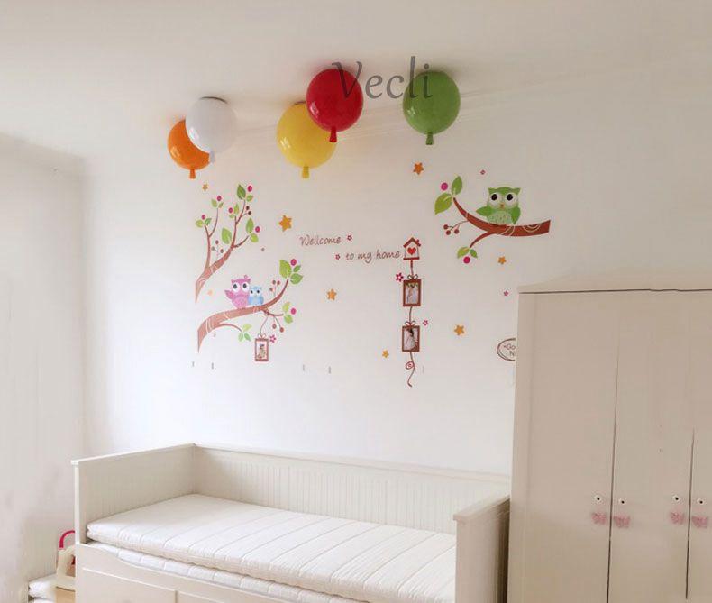 Colorful balloon ceiling light,kid child bedroom lamp baby room light,study living room kindergarten bar pub ceiling lamp 20CM