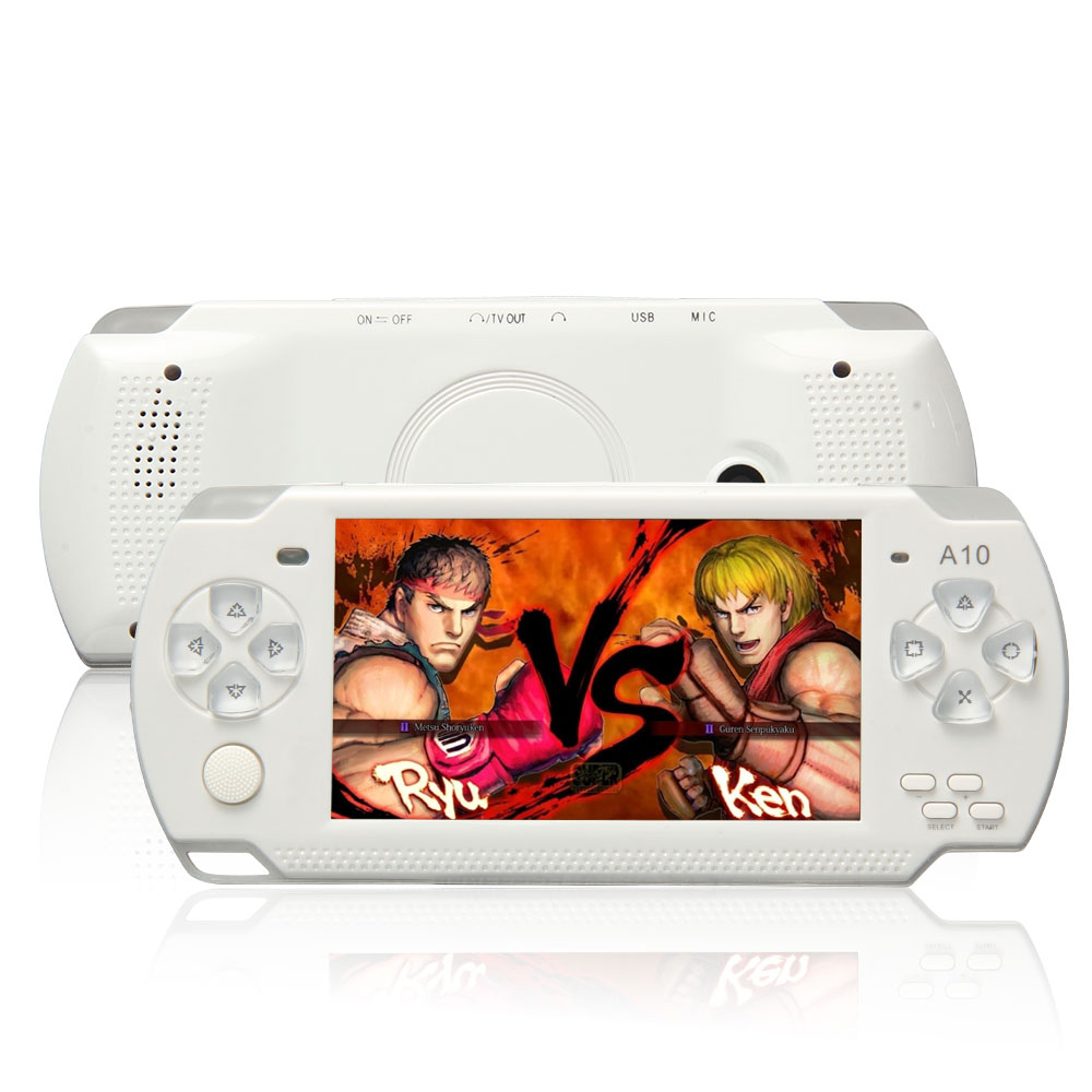 X6 Portable Handheld Game Console 8G 4.3 Inch Mp4 Player Video Game Console Free Games Ebook Camera Recording Gaming Consoles