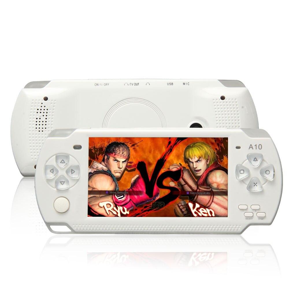 X6 Портативный портативный игровой консоли 8 г 4.3 дюймов mp4 видео плеер игровой консол ...