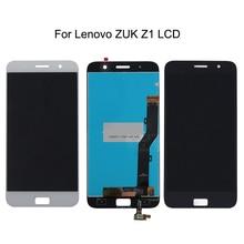 100% probado para Lenovo zuk z1 LCD + componentes de Digitalizador de pantalla táctil para Lenovo zuk z1 pantalla LCD accesorios de teléfono móvil + herramienta