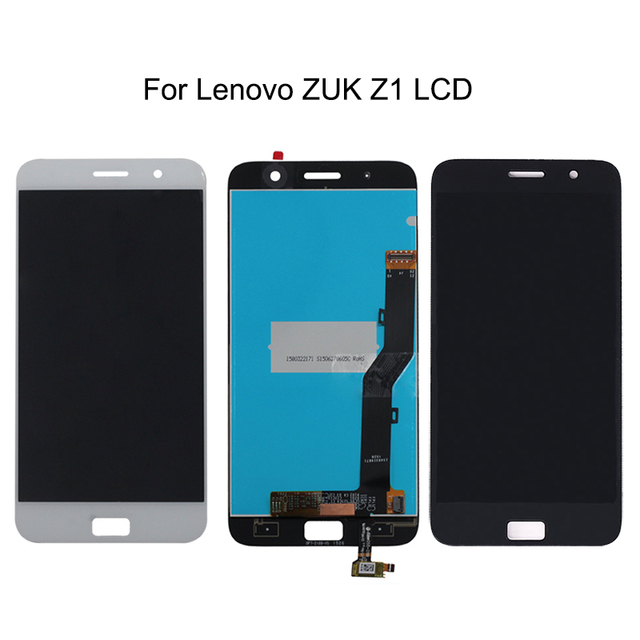 100% tested for Lenovo ZUK Z1 LCD + touch screen digitizer components for Lenovo zuk z1 LCD screen mobile phone accessories+Tool