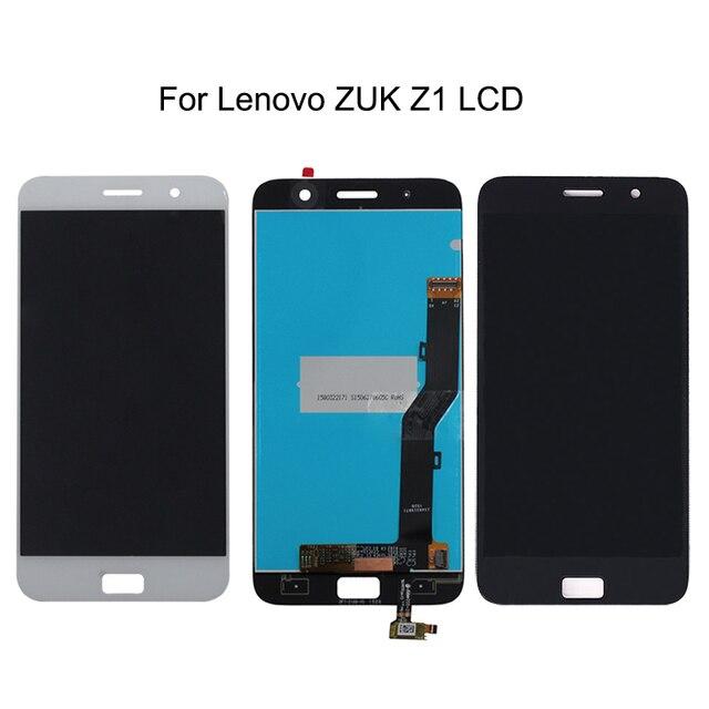 100% اختبار لينوفو zuk z1 LCD + محول الأرقام بشاشة تعمل بلمس مكونات لينوفو zuk z1 LCD شاشة الهاتف المحمول اكسسوارات + أداة