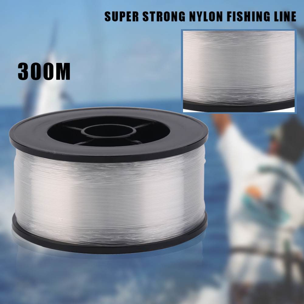 High Quanlity Ilure 300m/260m Super Strong Nylon Fishing Line 17LB For Saltwater Carp Lure Fishing Angling Accessories