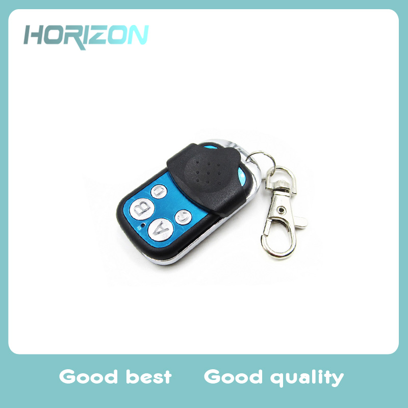 Universal 433Mhz RF Remote Control Learning Code 1527 EV1527 Gate Garage Door Smart Controller Light Switch Key Fob Transmitter