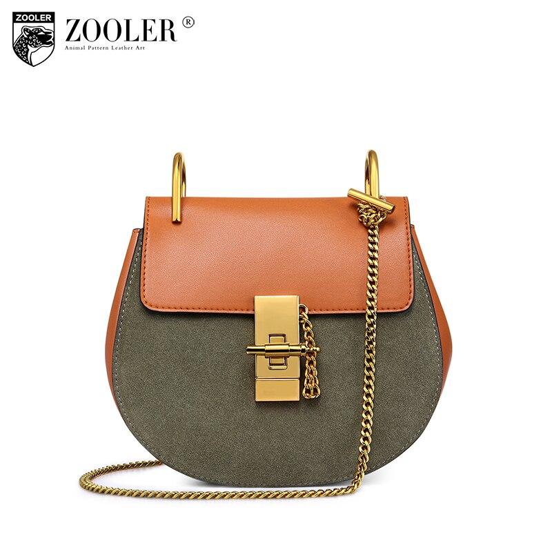 Женская кожаная сумка zooler