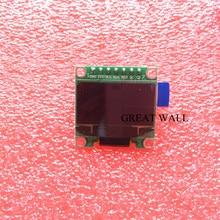 20Pcs 7pin 0.96 สีขาวOLEDโมดูล 128X64 OLED LCDโมดูลสำหรับ 0.96 SPI