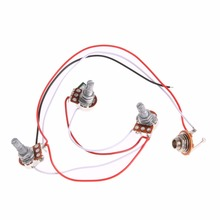 1 Set Wiring Harness Prewired 2V1T1J for JB Bass Guitar with 3 500k Pots Guitar_220x220 guitar jack wiring reviews online shopping guitar jack wiring  at gsmx.co