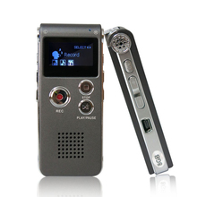 DN006 Digital Voice Recorder Telephone Audio Recorder MP3 Player Dictaphone 609 Built in 8GB