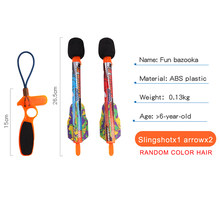 Boys Flying Arrow Rocket Sreaming Whistle Action Super Sky Missle Launchers Flying Kids Outdoor Toys For Girls Boys(China)