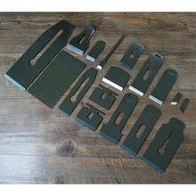 Европейский стиль рубанок заменить лезвие для обработки древесины металла строгания лезвия