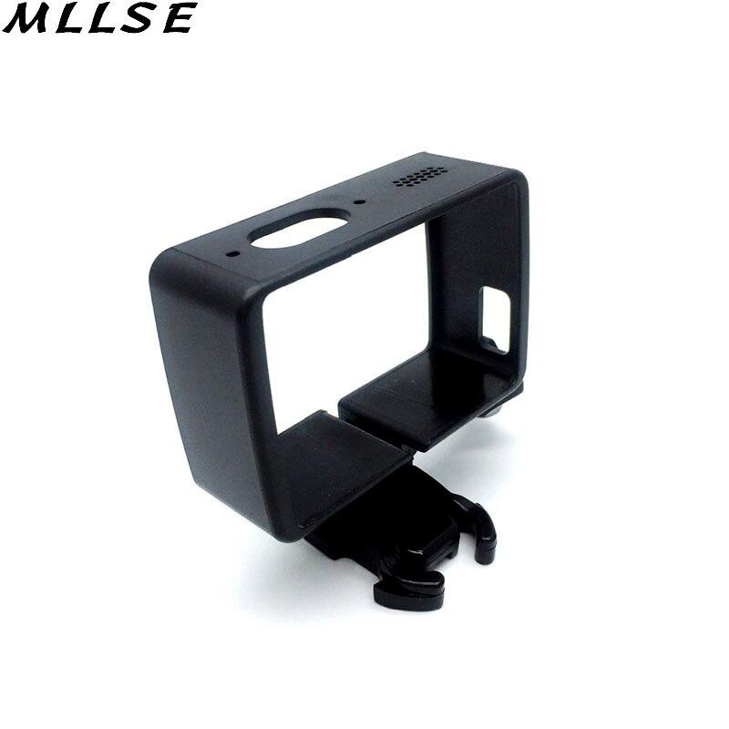 MLLSE Portátil de Proteção Tampa Da Caixa Moldura Para Xiaomi Yi 4 K  Quick-Release Buckle Monte Para Xiaomi Yi 2 Acessórios Da Câmera ação 1afe424445