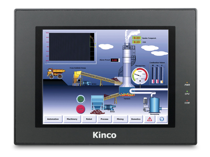 Original NEW Kinco HMI MT4523T with Program Cable & Software, 10.4 Inch TFT Display Touch Panel, 3 COM Ports, RS232/RS485-2/4 new original kinco mt4434te hmi with program cable