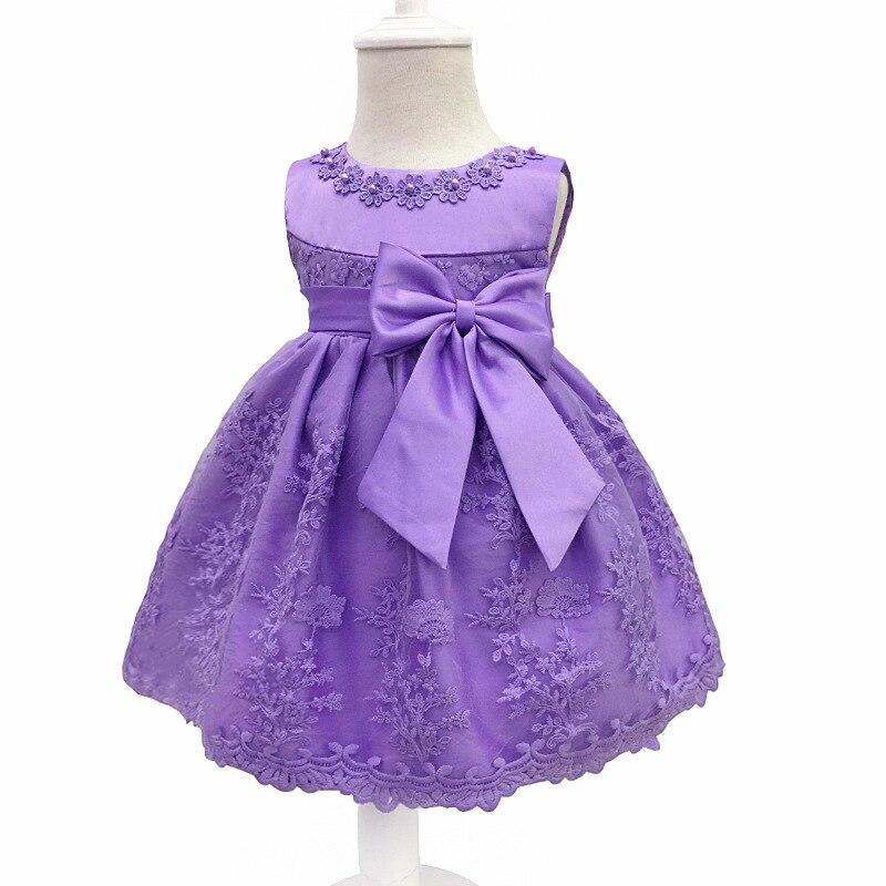 LZH niñas vestido para la muchacha 1 año cumpleaños vestido niños ...