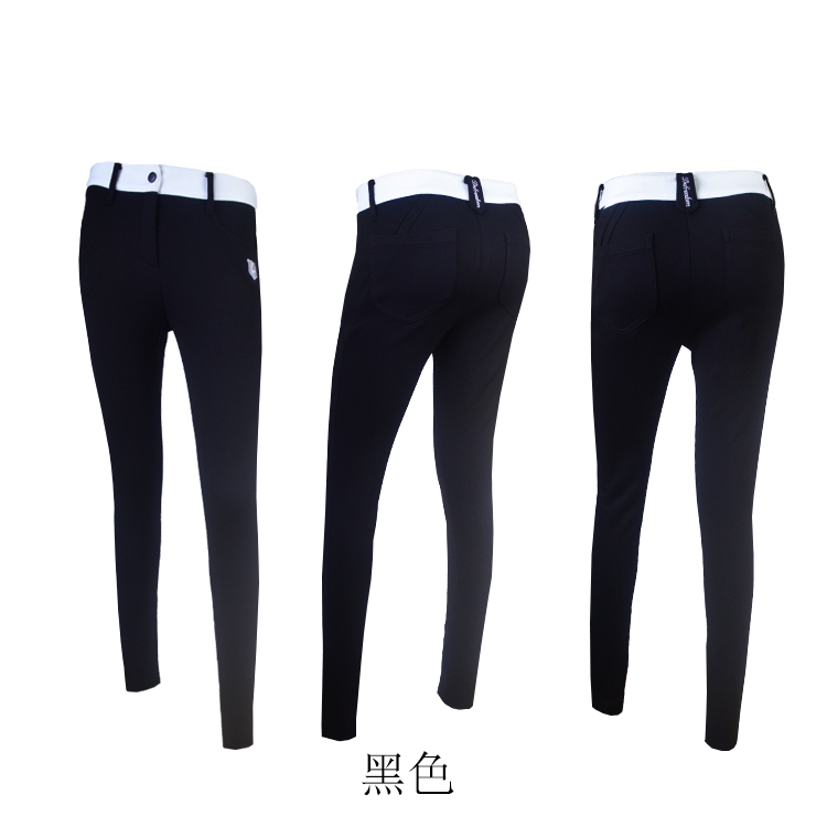 8e81827059 The new winter 2018 ladies golf trousers add wool warm trousers is ...