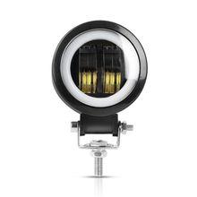 Новый LED Подсветка для автомобиля 20 W 3 дюйма Ангельские глазки круглый светодиодный прожектор бар для мотоцикла внедорожник Грузовик ATV автобусы свет работы