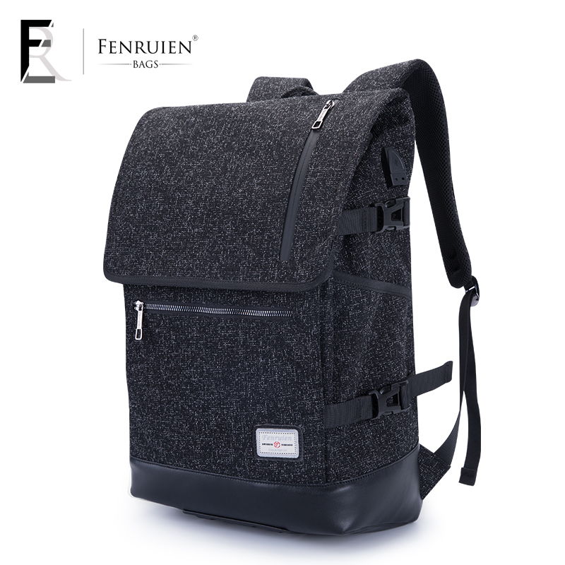 FRN New High Capacity Casual Backpack Men USB Charging Business Laptop Backpack Male Mochila Fashion Travel Backpack Bag ci юань суд обсидиана храбрый браслет