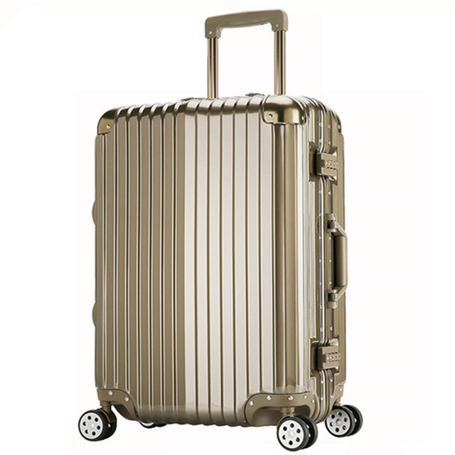 """20 24 29"""" inch Great Trolley suitcase luggage traveller case rolling with spinner wheels PC Pull Rod trunk boarding bag 6 colors"""