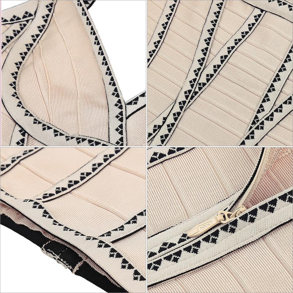 D'été Femmes Adyce Bandage Soirée Chic Gaine Robe 2018 V Mini Abricot Sexy Impression Robes Cou Courroie Apricot De rZAAnxtq6X