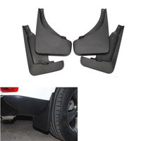 4Pcs/Set New Car Styling Splash Guards Mud Guards Mud Flaps Mudguard Fender Protector For 2011 2016 Jeep Compass