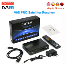 New upgrad dvb-s2 satelliter receiver V9S PRO 1080p HD receptor Support  7 Cline for 1 year spain USB WIFI TV Xtreamcodes IPTV