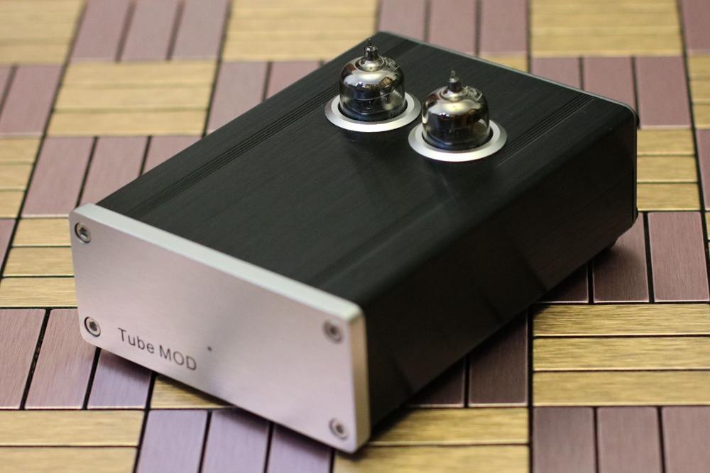 Version avancée du TUBE d'alimentation ca MOD MM tête amplificateur préamplificateur phono colle noire 6J1 TUBE préampli phono