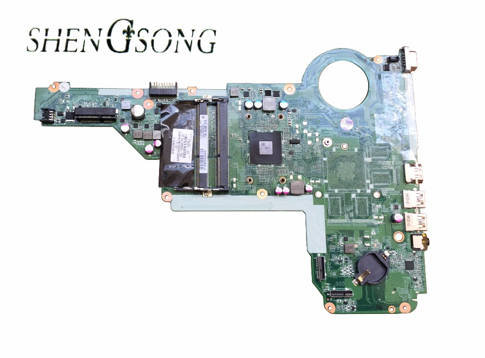 Free Shipping LAPTOP MOTHERBOARD SYSTEM BOARD 731534-501 FOR HP PAVILION 15 17 15-E 17-E A4-5000M CPU 731534-001 DA0R76MB6D0 wieco art modern 100
