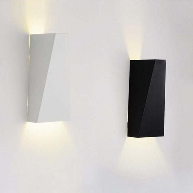 Moderno e minimalista lampade da parete a led luci di lettura da comodino soggiorno decorazione - Luci da interno a parete ...