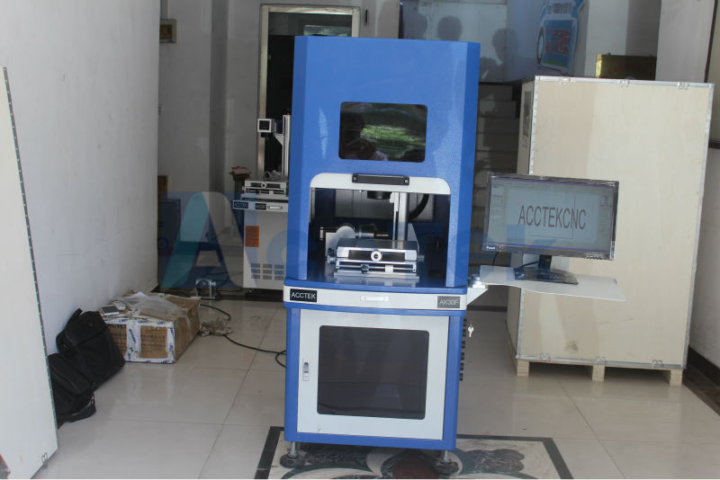 Electronic auto focus 30w fiber laser marking machine