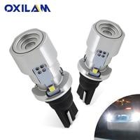 OXILAM 1000lm T15 W16W LED Canbus 921 912 cale inverse ampoule haute puissance Super lumineux voiture extérieur lampe 6500K blanc