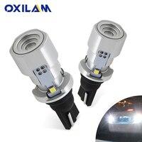 OXILAM 1200lm T15 W16W LED Canbus 921 912 Cuneo Luce di Retromarcia Lampadina di Alto Potere Luminoso Eccellente Auto Esterno Lampada 6500K Bianco