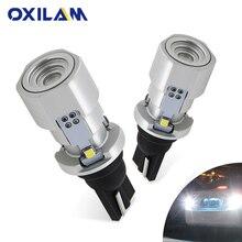 OXILAM 1200lm T15 W16W LED Canbus 921 912 إسفين عكس ضوء لمبة عالية الطاقة السوبر مشرق سيارة الخارجي مصباح 6500K الأبيض