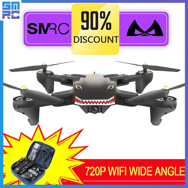 XS809W schwebt racing hubschrauber rc drohnen mit kamera hd drone profissional fpv quadcopter aircraft leucht spaß spielzeug für jungen