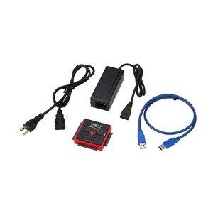 Image 5 - USB 3.0 כדי SATA/IDE מתאם כונן קשיח ממיר מתאם עבור אוניברסלי 2.5/3.5 HDD/SSD קשה כונן דיסק עם אספקת חשמל
