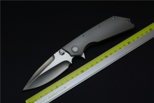 Green thorn micro EDC titanium alloy knife hunting high quality outdoor camping EDC pocket tool