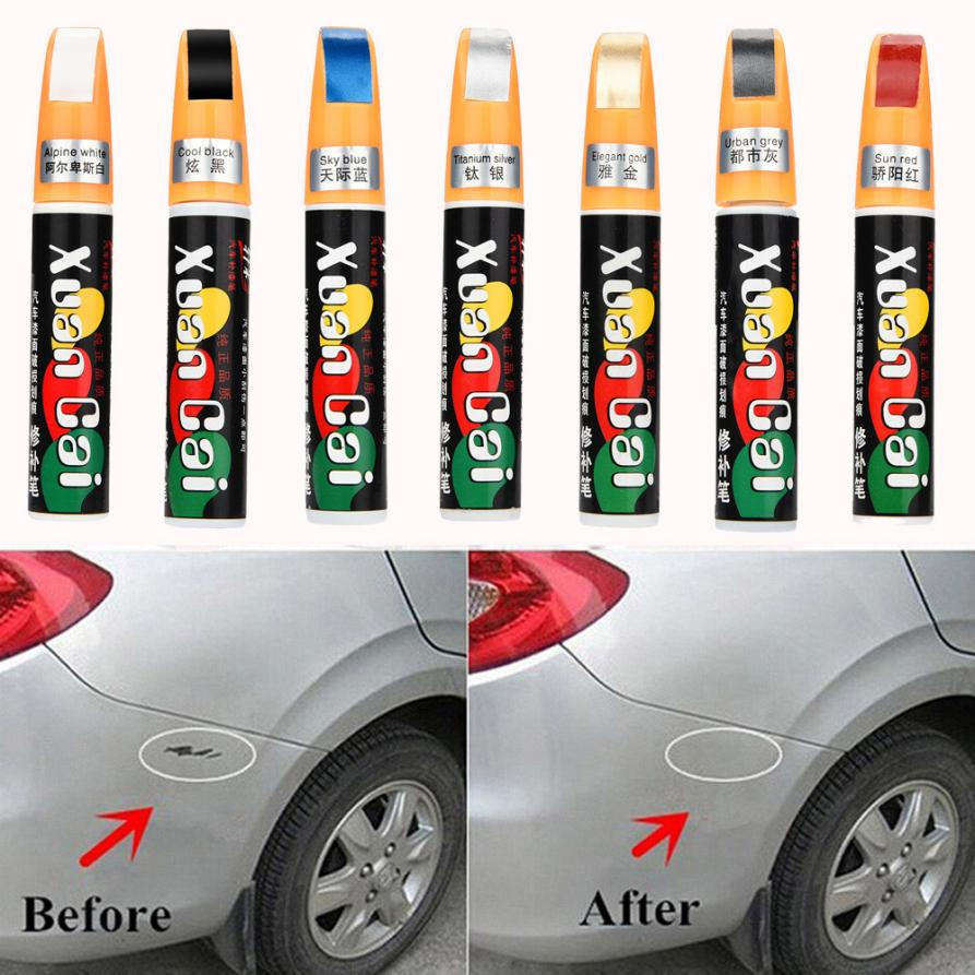 Us 2 34 35 Off Universal Newest Best Selling 6 Colors Auto Car Coat Paint Pen Touch Up Scratch Clear Repair Remover Remove Tool Car Styling In