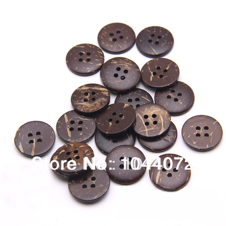 Free shipping 18mm decorative buttons for craft corozo for Decorative pins for crafts