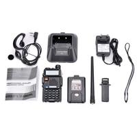 baofeng uv 2pcs Baofeng UV5R מכשיר קשר VHF UHF 136-174Mhz & 400-520Mhz Dual Band שתי דרך רדיו חובבי הרדיו UV5R נייד משדר UV 5R (5)