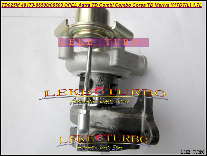 Free Ship TD025 49173-06500 49173-06503 49173-06501 Turbo Turbocharger For OPEL Astra G H Combi Combo H Corsa C TD Y17DT 1.7L td025 49173 06500 98102367 turbo turbocharger for opel vauxhall astra g h corsa c combo h combi meriva 1999 y17dt 1 7l dti 80hp