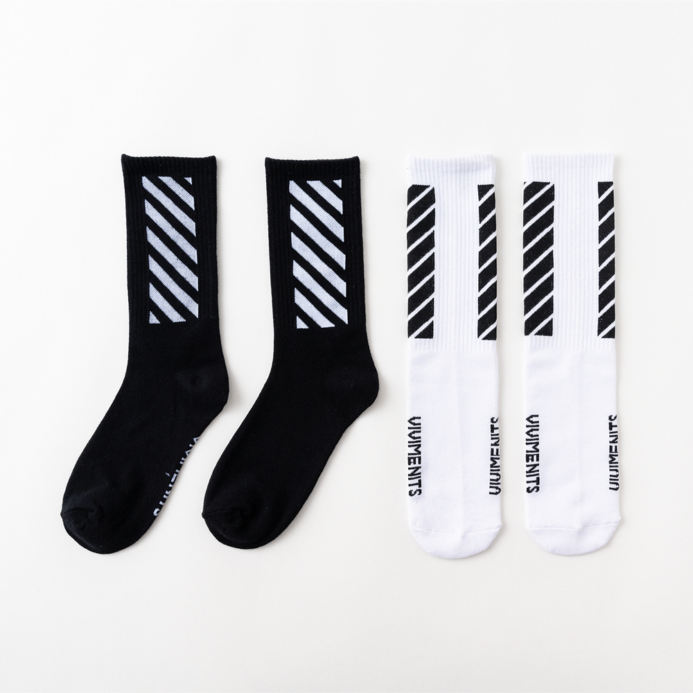 Men's Harajuku HipHop Happy   Socks   Hipster Kanye West Crew   Socks