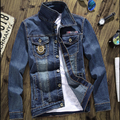 Cheap wholesale 2016 spring autumn new tide men cowboy fashion casual cool men denim jacket European and American style