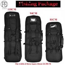 Good Fishing Equipment 81/94/118CM Fishing Bag Square Carry Bag Protection Case Fishing Backpack Bolsa De Pesca Fishing Rod Bags