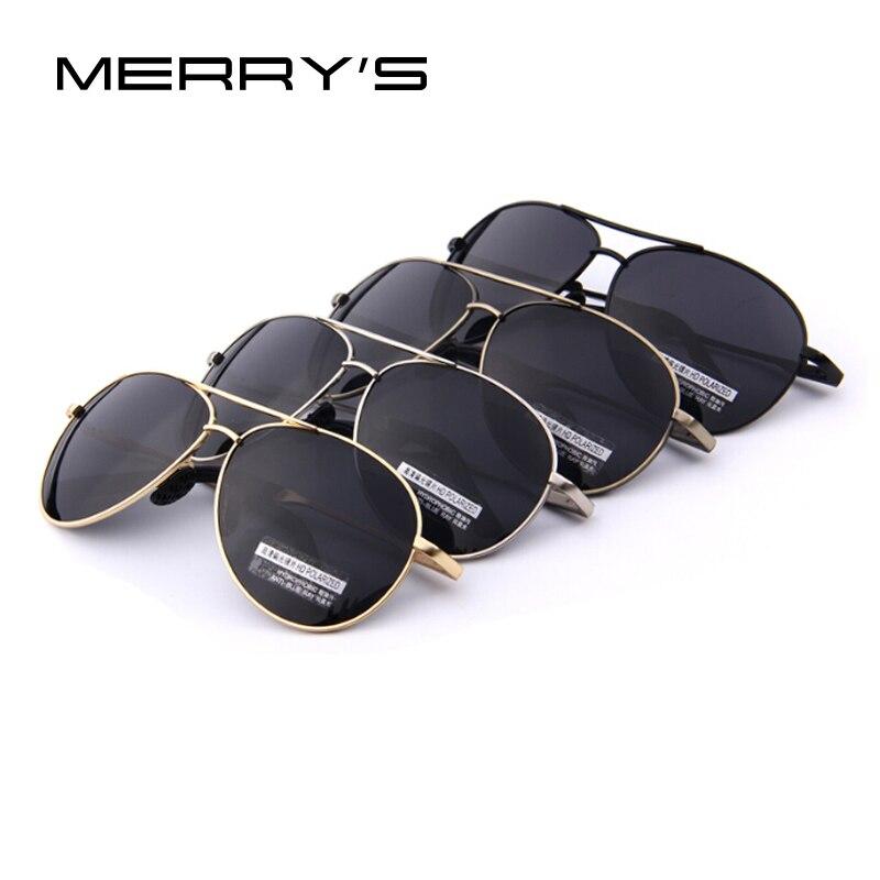 MERRY'S Gafas de Sol Polarizadas Hombres Conductor Espejo Gafas de - Accesorios para la ropa - foto 6